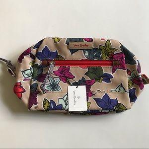 NWT Vera Bradley Medium Cosmetic Bag